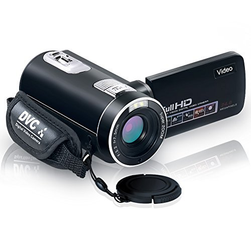 Camcorder Digital Camera Full HD 18X Digital Zoom Night Visi