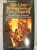 Little Restaurants of Los Angeles, Roz Lewis, 0913290017