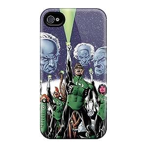 Iphone 6 SbK1981qXxR Custom Trendy Green Lantern Corps Pattern Shockproof Hard Phone Case -PhilHolmes