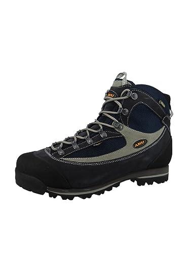 98e15b08ddc92 AKU Hiking shoes Trekking 838-208 TREKKER LITE II GTX Men Azul Gris Blue  Gray