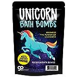 Unicorn Bath Bombs – Unicorn Bath Balls Funny Unicorn Gifts for Girls Unicorn Bath and Body Gifts for Women Pretty Bath Bombs Stocking Stuffers for Girls Fun White Elephant Ideas Secret Santa Gifts