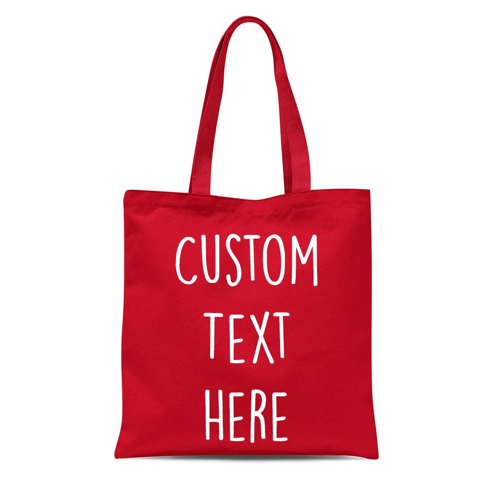 Personalised Cotton Tote Bag Bridesmaid Hen Do Wedding Any Name Text Word Custom