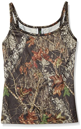 Weber Camo Leather Goods Mossy Oak Break-Up Tank Top-S