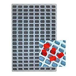 CBD Silicone Gummy Mold – Universal Candy Depositor Friendly – 144 Cavity