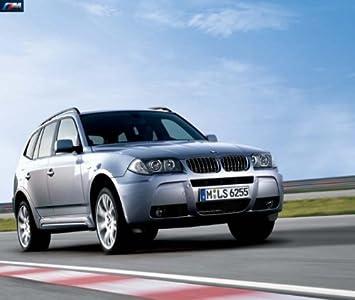 Original BMW M aerodinámica de del paquete para BMW X3 E83 Facelift - con SWR con PDC: Amazon.es: Coche y moto