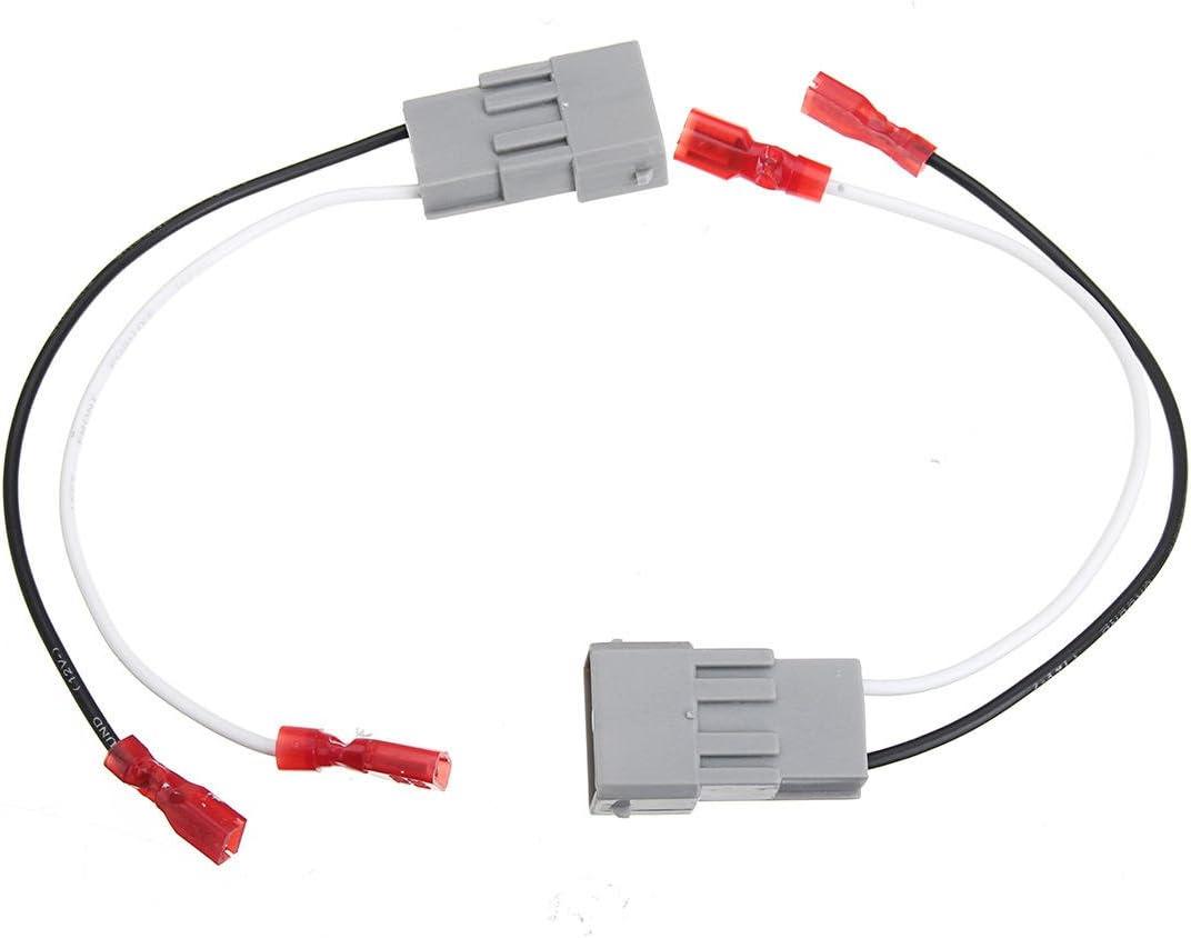 Electrical Equipment /& Supplies Connectors /& Terminals 2pcs Speaker Connector Harness Adapters 2Pcs Speaker Connector Harness Adapter Wire Cable Wiring Harness SP-7800 72-7800