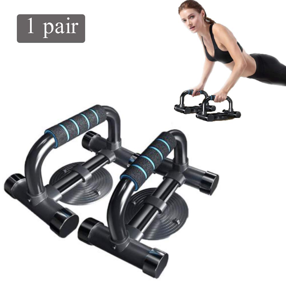 SVNA Push Ups Bars,Non-Slip Push Rod with Comfortable Foam Handle Stabilizing Suction Cup 120kg Load-Bearing for Upper Body Exercise by SVNA (Image #1)