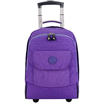 Amazon.com: C-Xka Wheeled Laptop Backpack College Backpack, Rolling School Bag, Business Backpack, Travel Backpack Wheeled Rolling Backpack: Home & Kitchen