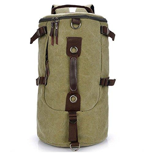 Pairs D - Bolso mochila  para mujer verde verde large verde