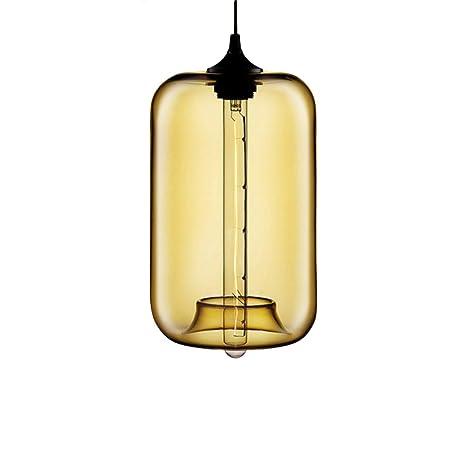 Modern industriales - Lámpara de techo (Vidrio, motent ...