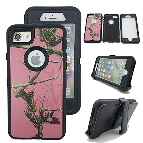 iPhone 7 Plus Camo Case, Kecko  Tree Camouflage Shock-abs...