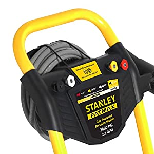 Stanley FATMAX SXPW2823K 2800 PSI @ 2.3 GPM Gas Pressure Washer Powered by KOHLER