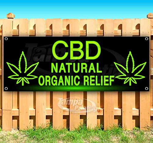 CBD Oils and More 13 oz Banner Heavy-Duty Vinyl Single-Sided with Metal Grommets