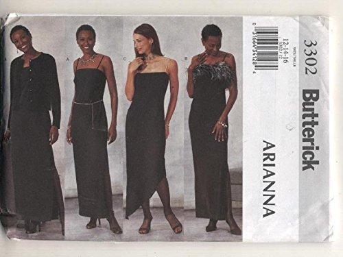 Butterick 3302 Arianna Formal Evening Wear Sewing - Wear Vogue Evening