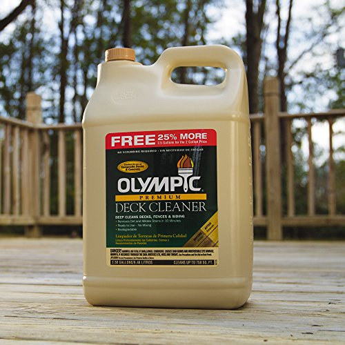 Olympic Stain 52125-5 Premium Deck Cleaner, 2.5 Gallons