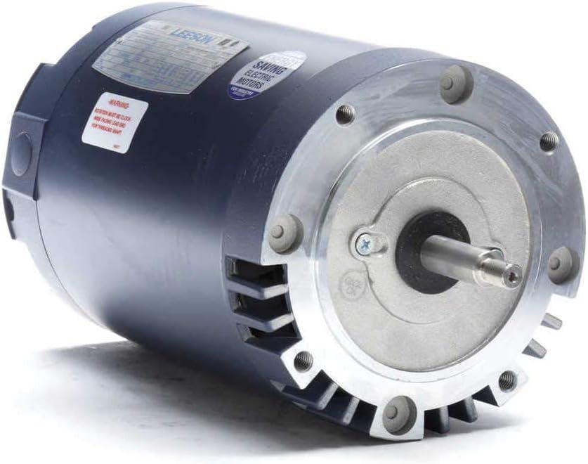 B000AL47WQ 3 hp 3600 RPM 56J Frame ODP C-Face (No Base) 230/460V Leeson Electric Motor # 113893 51OWWDJDa5L.SL1280_