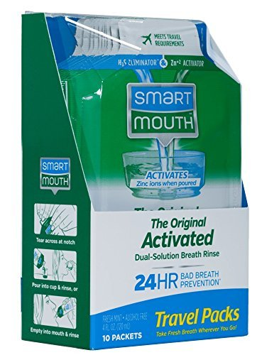 Smart Mouth Mouthwash, Travel Size - 10 ct - 2 ()