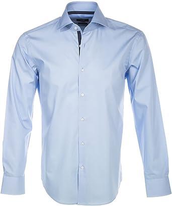 BOSS Hugo Camisa casual - para hombre Azul azul: Amazon.es: Ropa y accesorios