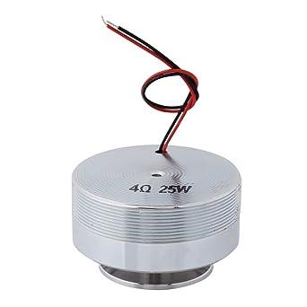 1pcs 50mm Altavoz de Resonancia Altavoz de Vibración Altavoz de Resonancia de Frecuencia Clásica para Ordenador Portátil, MP3, MP4, CD, Teléfono Móvil,(4Ω 25W)