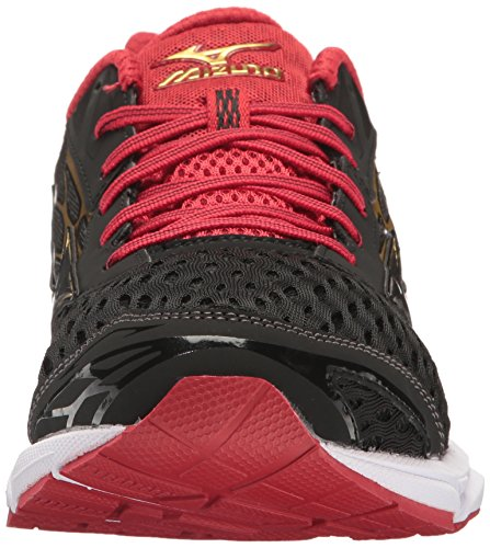 outlet wholesale price outlet authentic Mizuno Men's Wave Catalyst 2 Running Shoe Black/Chinese Red clearance original newest for sale qWLLm