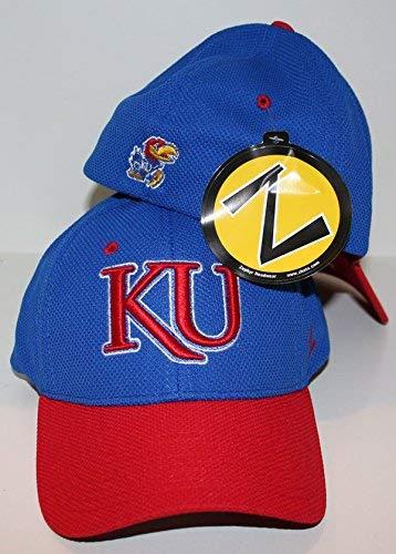 finest selection e379c ba2f8 ZHATS Kansas University KU Jayhawks Blue Top Pursuit Jersey Mesh Adult Mens  Flex Fitted Hat Cap Size Medium Large, Baseball Caps - Amazon Canada