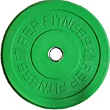 Rep Color Bumper Plates for CrossFit and Weightlifting, 25 lb Pair
