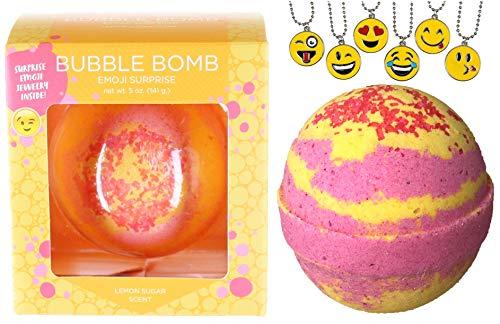 Girls Emoji Bubble Bath Bomb with Surprise Kids