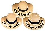 H-2017-3-AB.LAB.RBF Sun Hat Bundle - Beach Saying Trio