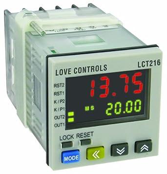 Love Digital TimerTachometerCounter LCT216110 Relay Output