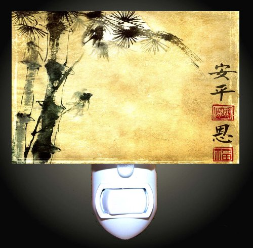 Abstract Asian Decorative Night Light