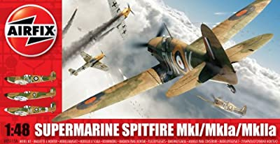 Airfix A05115A Supermarine Spitfire MkI 1:48 Scale Military Aircraft Series 5 Model Kit