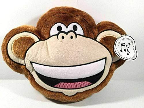 Bobby Jack Girls Monkey Plush Speaker Pillow
