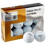 Titleist Pro V1 Mint Pelotas de golf recabadas, oficiales, empaque de 12