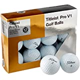 Titleist Pro V1 Mint Refinished Official Golf Balls (One Dozen) Packaging May Vary