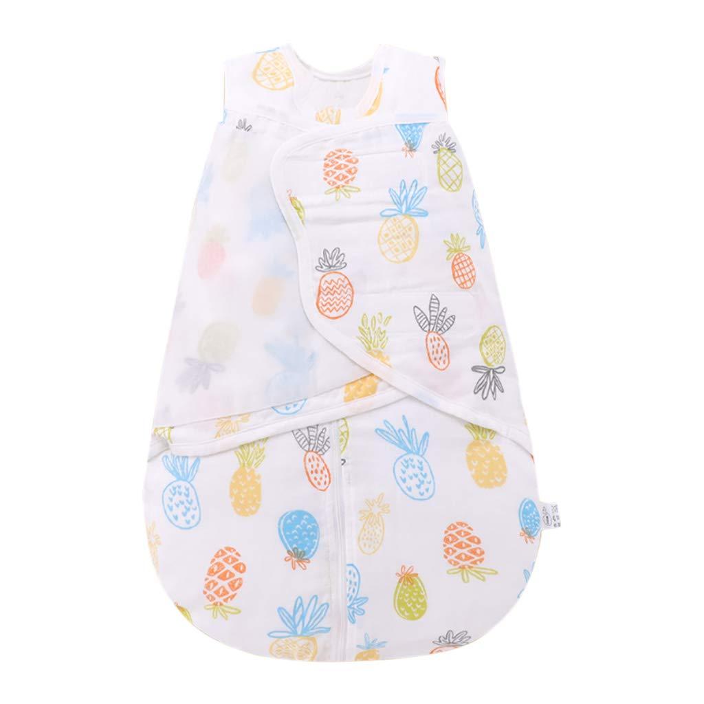 HUYP 赤ちゃんの寝袋ラップ毛布アンチキックキルト春と夏新生児0-6ヶ月寝袋夏の赤ちゃんの巣 (色 : Orange C-thin quilted, サイズ さいず : 59 yards) 59 yards Orange C-thin quilted B07P41C5NV