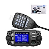 NKTECH NK-9800 Mobile Transceiver Dual Band Quad Standby 5-Tone 2-Tone VHF/UHF 25W/20W 136-174/400-480MHz Car Trunk Radio Amateur Mini Color Screen Ham Walkie Talkie Upgrade