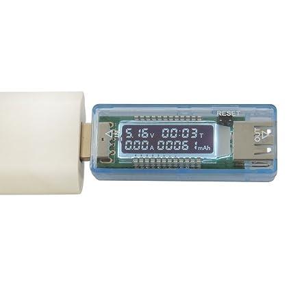 Bank 3 Meter.Ueb Usb Digital Multimeter Ampere Voltage Capacity Meter Monitor
