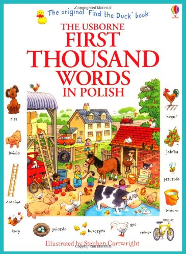 First Thousand Words in Polish (Usborne First Thousand Words)