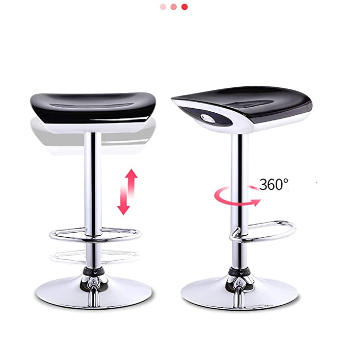 Practical Bar Chair Increase The Chassis Lift High Stool Modern Minimalist High Stool Home Rotating Bar Chair Abs Resin Raw Material Bar Furniture