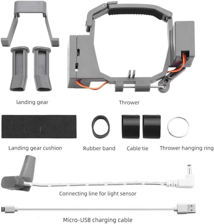 catyrre Lanzamiento de propuesta de Boda Lanzador de Aviones no tripulados para lanzar Publicidad Cebo de Pesca Regalos Entrega de Comidas Compatible con dji Mavic Pro