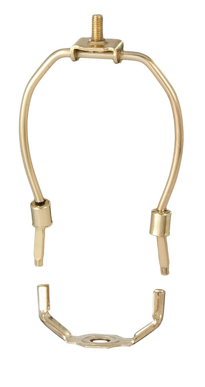 B&P Lamp 4 1/2'' Harp, Brass Plated, Regular Weight