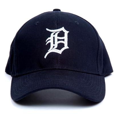 MLB Detroit Tigers LED Light-Up Logo Adjustable Hat