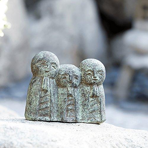 triple-friendly-jizo-japanese-buddha-statue-garden-stone-statue