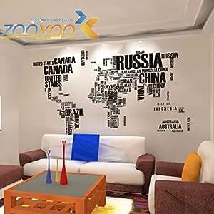carta creativa mapa del mundo 2 pcs para la decoraci n del
