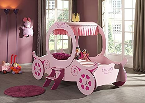 Letto Carrozza Cenerentola : James foster co letto singolo per bambina a forma di carrozza