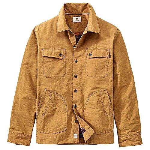 Timberland Waxed Canvas Shirt Jacket