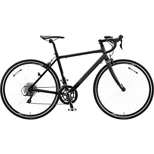 ブリヂストングリーンレーベル(BRIDGESTONE GREEN LABEL) ロードバイク CYLVA(シルヴァ) D18 マット&グロスブラック D1849 490mm B01MDTP7YQ