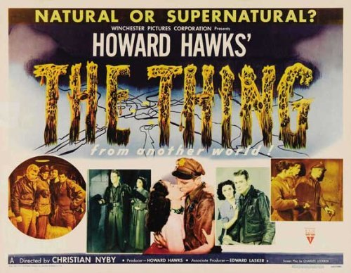 The Thing from Another World POSTER Movie (22 x 28 Inches - 56cm x 72cm) (1951) (Half Sheet Style (22 Half Sheet Movie Poster)