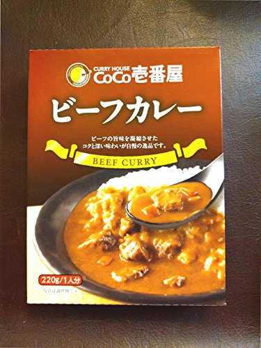 CoCo Ichibanya Curry House, beef curry (pack of four) (Original Version) ()