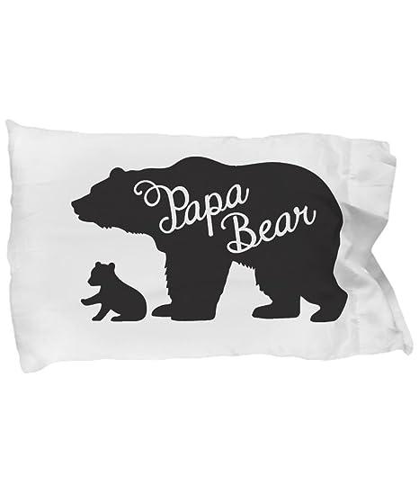 : CyberHutt West Papa Bear with Cub Pillow Case